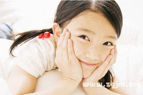 梦见小女孩对我笑