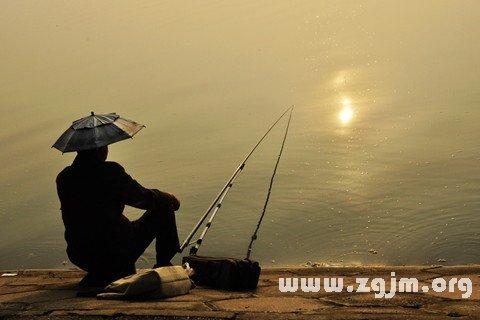 梦见钓鱼者 钓鱼的人