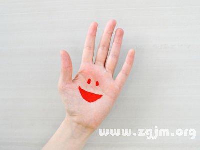 双手断掌手相图解 掌纹算命手纹算命图解
